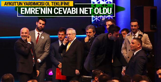 Emre Belözoğlu'nun Fenerbahçe'nin teklifine cevabı