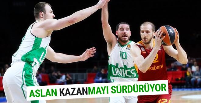 Galatasaray Unics Kazan'ı devirdi