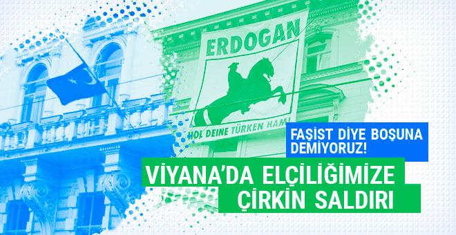 Türkiye'nin büyükelçiliğine çirkin saldırı