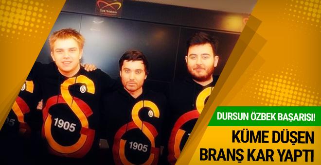 Galatasaray küme düştüğü branşta kâr elde etti