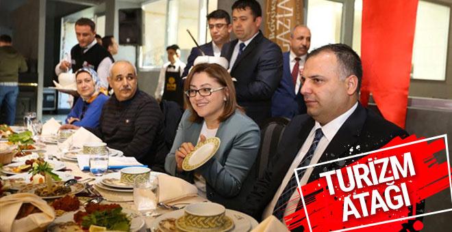 Fatma Şahin turizm atağı için kolları sıvadı