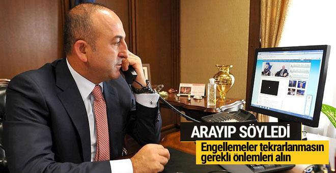 Çavuşoğlu Bulgar mevkidaşı ile görüşüp çözüm istedi