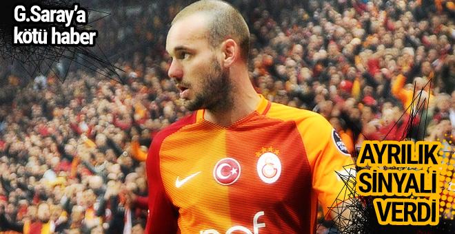 Wesley Sneijder'den şoke eden açıklama