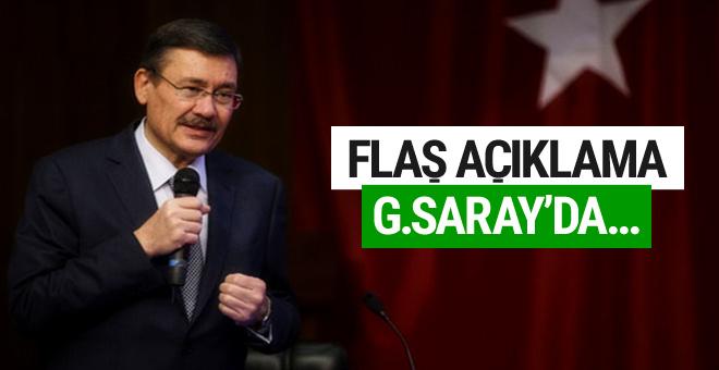 Melih Gökçek'ten  flaş açıklama! Galatasaray'da...