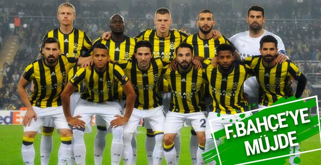 Fenerbahçe'ye bir müjdeli haber daha
