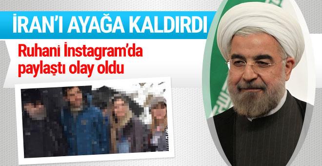 İran Cumhurbaşkanı Ruhani'nin olay İnstagram fotoğrafı