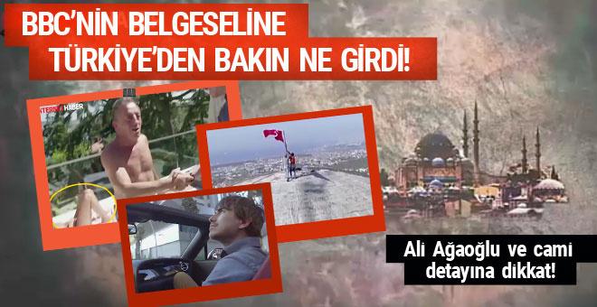 BBC'nin Türkiye belgeseli! Ağaoğlu ve cami detayına dikkat!
