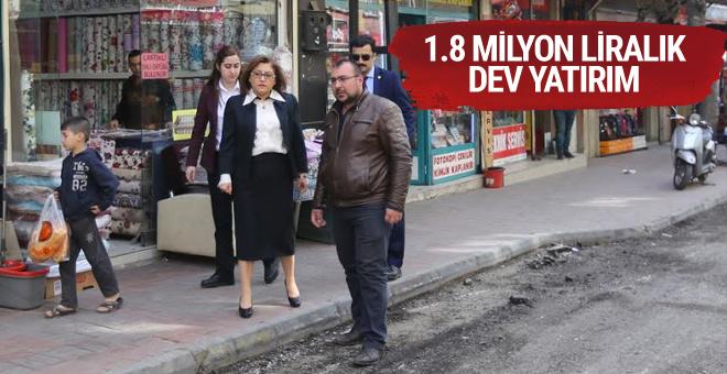 Gaziantep Büyükşehir Belediyesi'nden 1.8 milyonluk yatırım