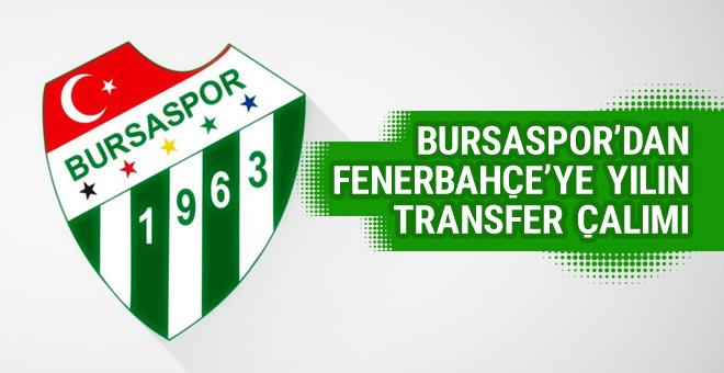 Bursaspor'dan F.Bahçe'ye yılın çalımı