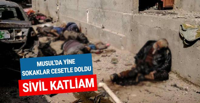 DEAŞ militanları Musul'da katliam yaptı!