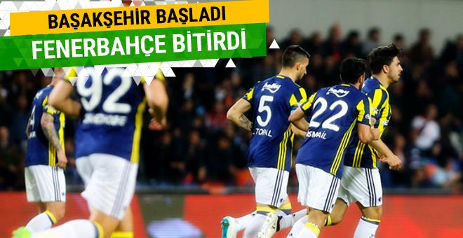 Başakşehir-Fenerbahçe maçı golleri ve geniş özeti