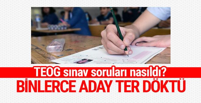 TEOG Türkçe - Matematik - Din Kültürü soruları nasıldı? İlk yorumlar bomba