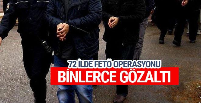 72 ilde FETÖ operasyonu çok sayıda gözaltı