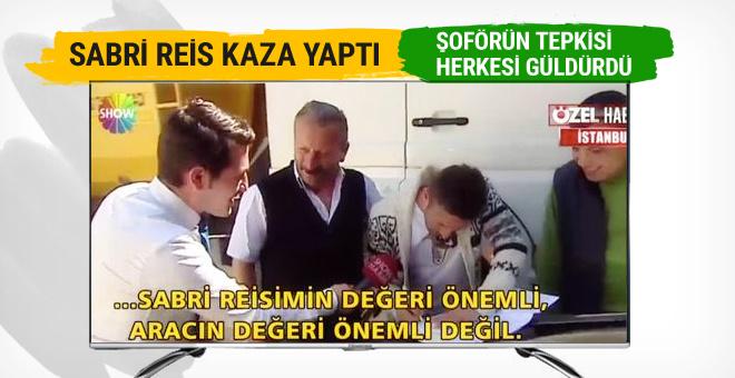 Sabri Sarıoğlu kaza yaptı