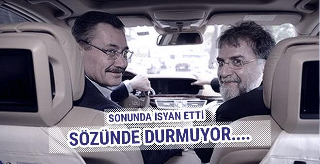 Ahmet Hakan isyan etti: Gökçek sözünde durmuyor!