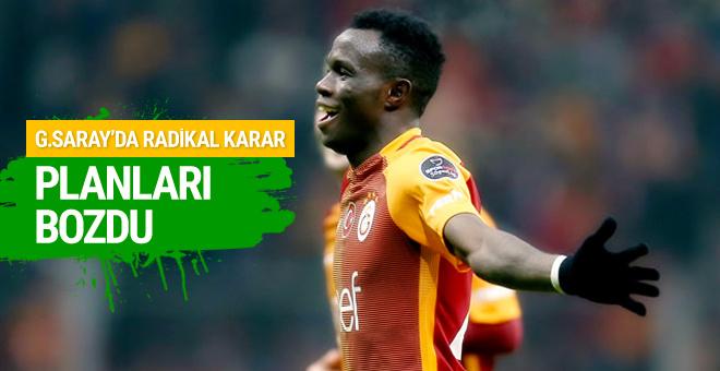Galatasaray'dan radikal karar Bruma planları bozdu