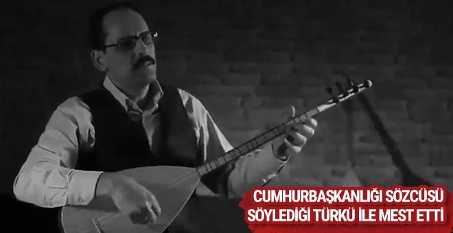 Cumhurbaşkanlığı Sözcüsü İbrahim Kalın'dan muhteşem klip