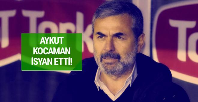 Aykut Kocaman isyan etti!