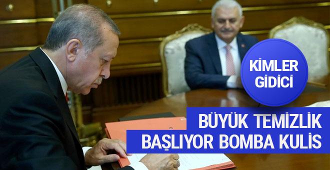 AK Parti'den bomba kulis! Hangi bakanlar gidici sürpriz isim