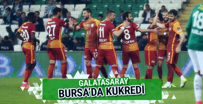 Bursaspor-Galatasaray maçı golleri ve geniş özeti