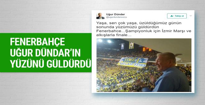 Fenerbahçe Uğur Dündar'ın yüzünü güldürdü
