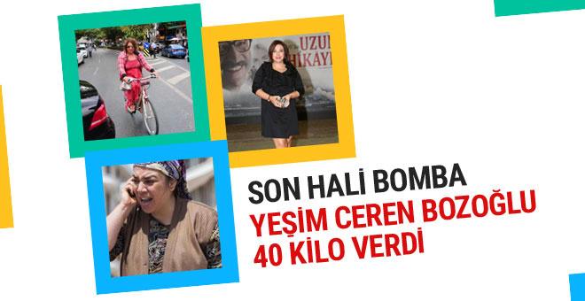 Yeşim Ceren Bozoğlu 40 kilo verdi son hali bomba