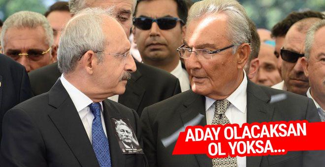 Baykal'dan Kılıçdaroğlu'na çıkış aday olacaksan ol yoksa...