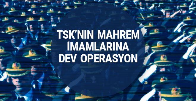 FETÖ'nün TSK yapılanmasına yönelik dev operasyon!