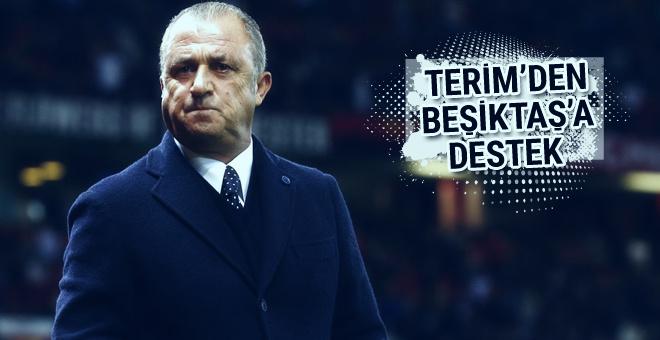 Fatih Terim'den Beşiktaş'a destek