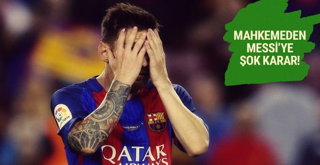 Messi'nin hapis cezası onaylandı!