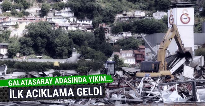 Galatasaray Adası yıkılıyor!