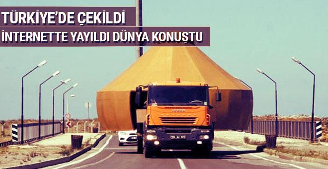 Türkiye'de çekildi sosyal medyada yayıldı dünya konuştu!