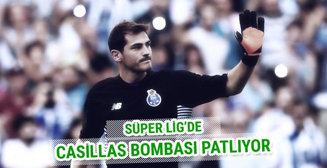 Süper Lig'de Iker Casillas bombası!