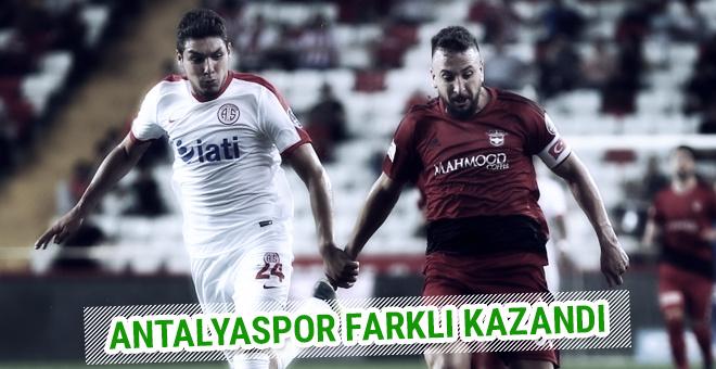 Antalyaspor - Gaziantepspor maçı sonucu ve özeti