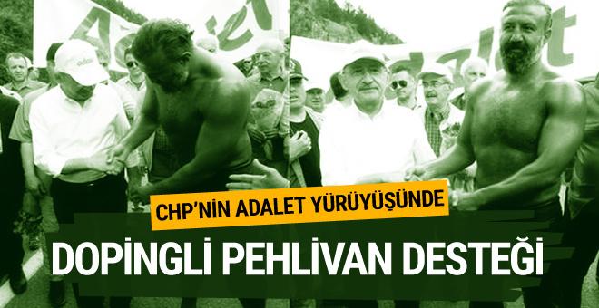 Dopingli pehlivandan Kemal Kılıçdaroğlu'na destek