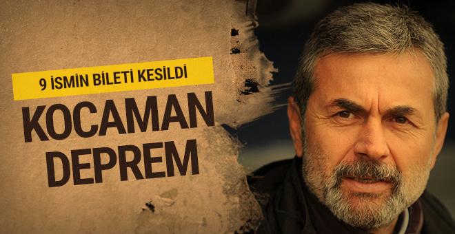 Fenerbahçe'de deprem! 9 ismin biletini kesti