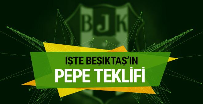 Beşiktaş Pepe'de sona yaklaştı
