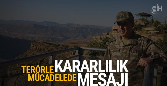 Hulusi Akar Siirt'te kararlılık mesajı verdi