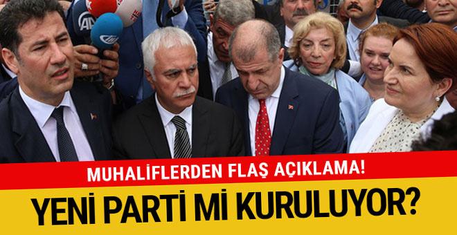 MHP'li muhalifler yeni parti mi kuruyor? Flaş açıklama