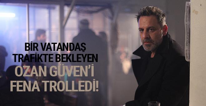 Bir vatandaş trafikte bekleyen Ozan Güven'i fena trolledi!