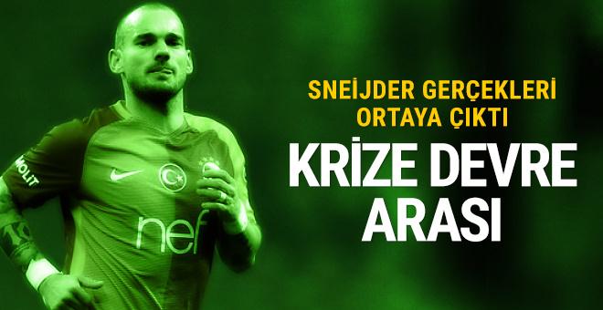 İşte Sneijder gerçeği: Krize devre arası!