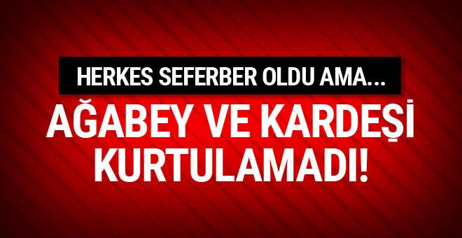 Adana'da 2 kardeş boğularak hayatını kaybetti