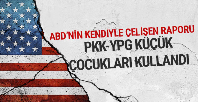 ABD: Terör örgütü PKK ve YPG çocukları kullandı