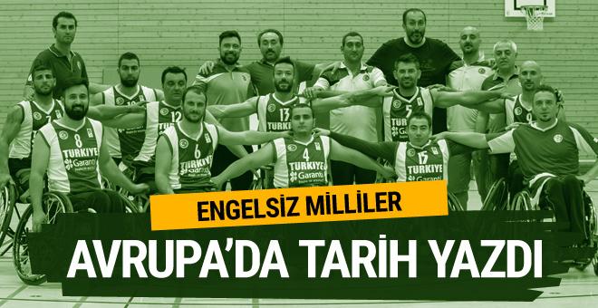 Türkiye Tekerlekli Sandalye Basketbol Erkek Milli Takımı şampiyon oldu