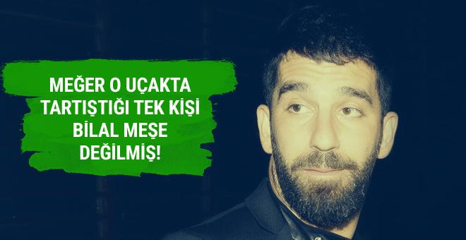 Arda Turan Bilal Meşe'ye saldırmadan önce bakın ne yapmış!