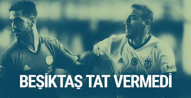 Beşiktaş Schalke 04'e mağlup oldu