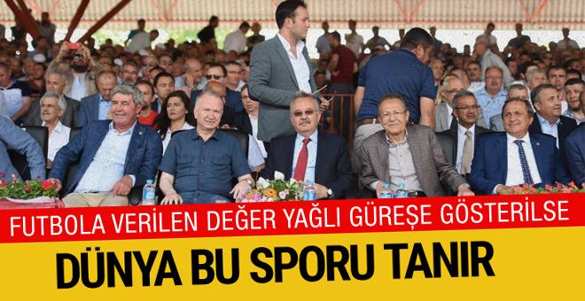 Yağlı Güreş Düzenleyen Kentler Birliği Edirne'de toplandı
