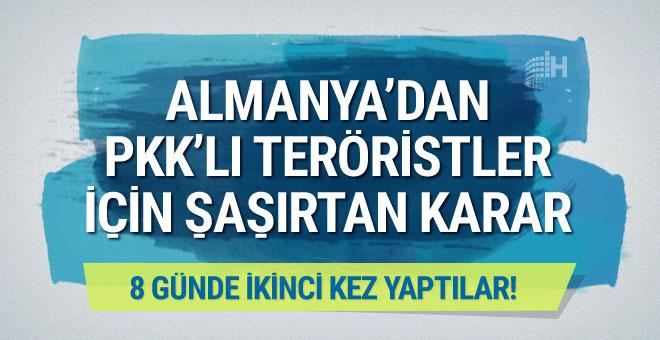Almanya'dan peş peşe PKK kararları