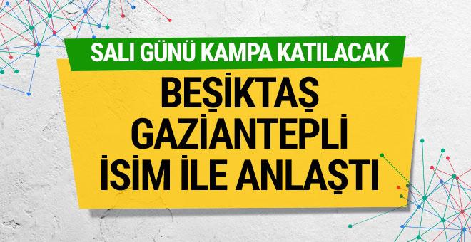 Gaziantepsporlu futbolcu Beşiktaş'ta