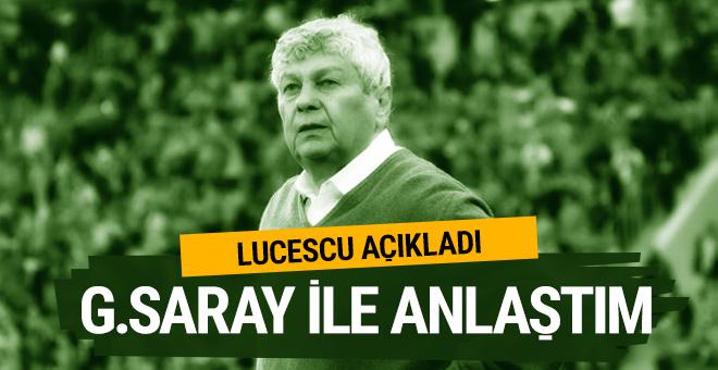 Mircea Lucescu: Galatasaray'la anlaştım